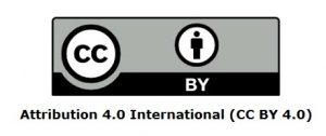 Attribution 4.0 International (CC BY 4.0)