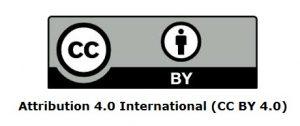 Attribution 4.0 International (CC BY 4.0)